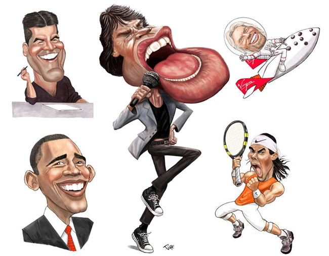 Caricature Examples
